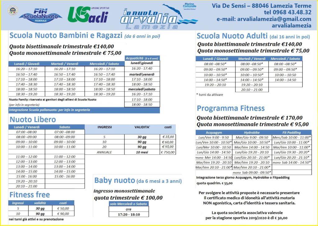 Brochure Corsi Arvalia