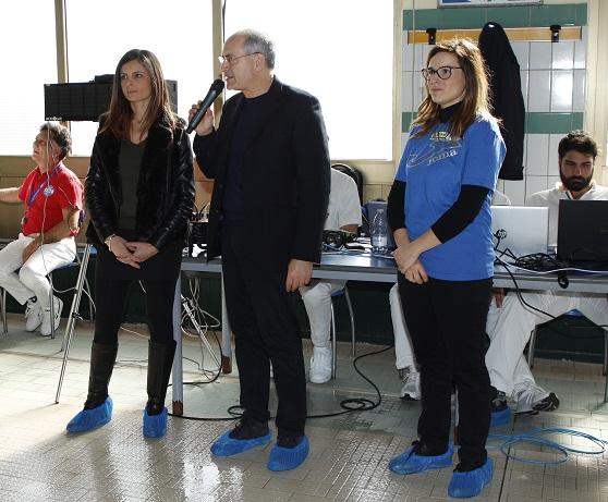 Luisa Vaccaro, Paolo Mascaro e Carmen Mazzei