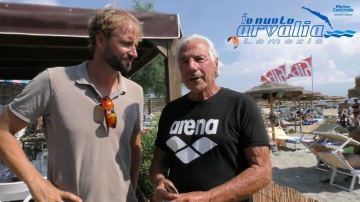 Massimiliano Rosolino e Massimo Borracci