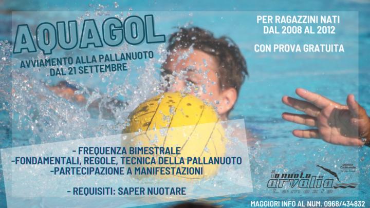 Aquagol - Arvalia Nuoto Lamezia