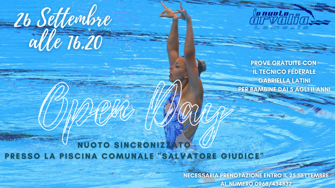 Sincronizzato - open day - arvalia nuoto lamezia