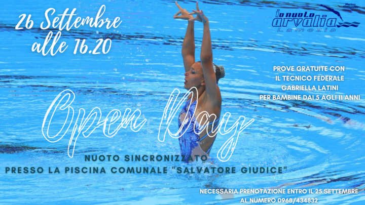 Sincronizzato - open day - arvalia nuoto lamezia